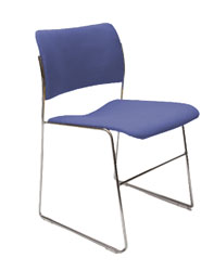 The Patriot-Upholstered Stacking Chair