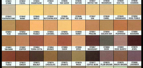 Colorflex Color Chart