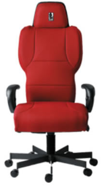 hi back heavyweight office chair supports up to 550 lbs