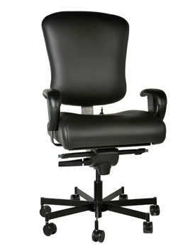 24 7 heavyweight mid back office chair supports up to 550 lbs