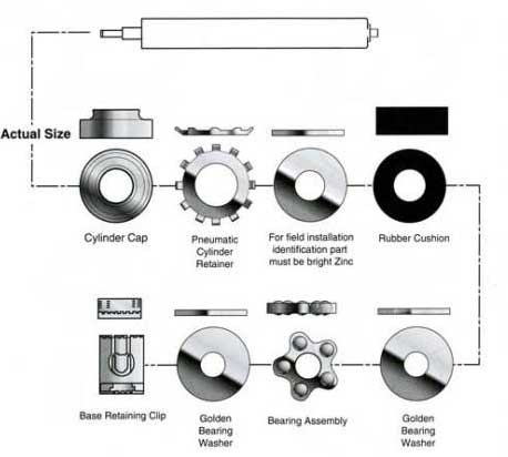 Steelcase Bearing Kit