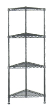 corner wire shelving units
